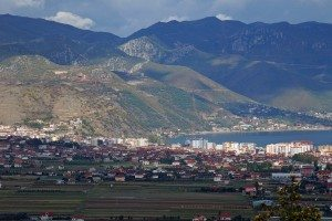 Pogradec_from_South