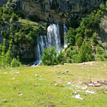 Sotira waterfall, a spring trend in Albania