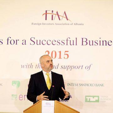 Foreign Investors Association of Albania celebrates 15th anniversary