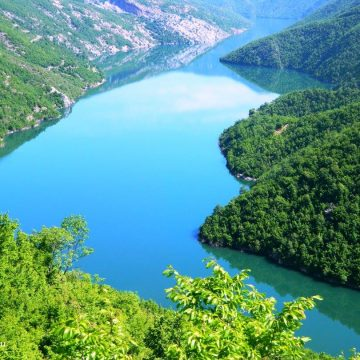 The most visited lakes in northern Albania