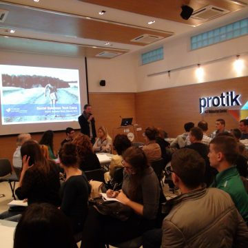 Social Business Tech Camp event organized by Protik and Yunus SB Albania