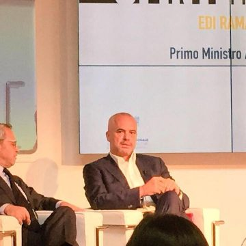 Primer Rama: In 2014, more than 360 Italian companies established in Albania
