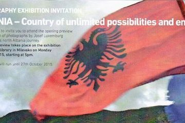 Albania – Country of Unlimited Opportunities and Enjoyments photo exhibition in Milevsko