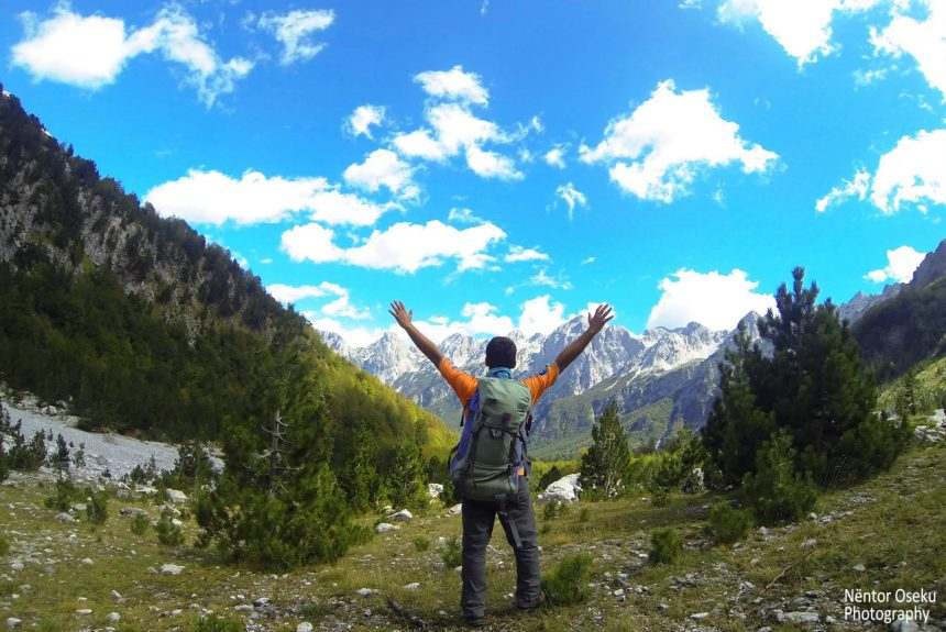 Interview with Nëntor Oseku, the hiker who explores Albania each weekend