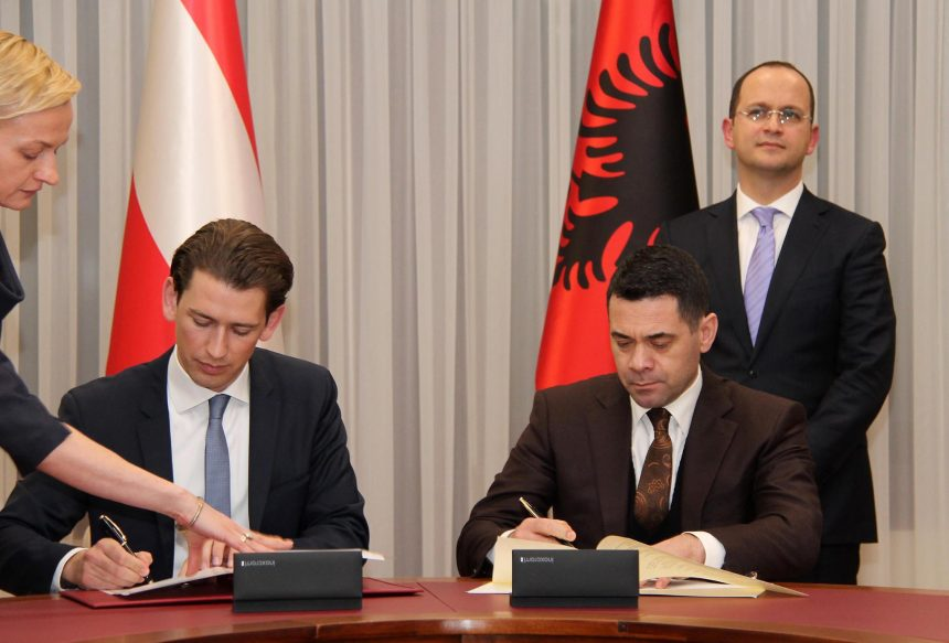 Albania and Austria sign agreement for cooperation in the tourism sector