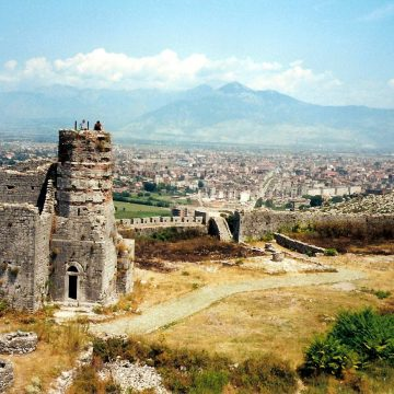 Touristic Albania, young people passionate about history