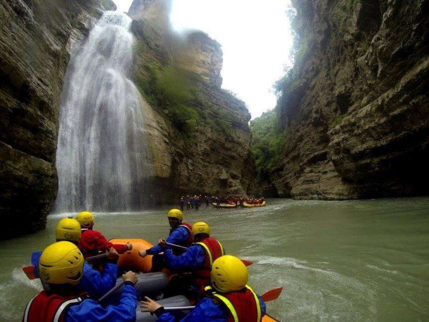Rafting at Canyons of Osumi