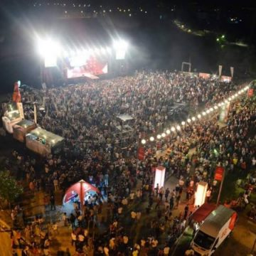 Korça Beer Festival, gathers a lot of people and tourists