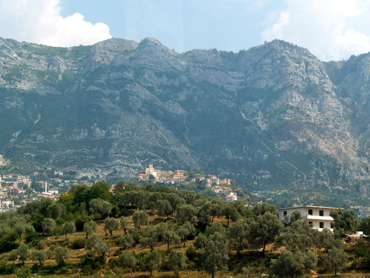 Kruja mountain
