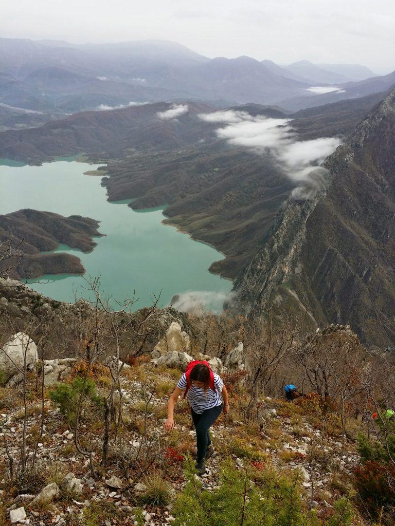 Gamti mountain hiking