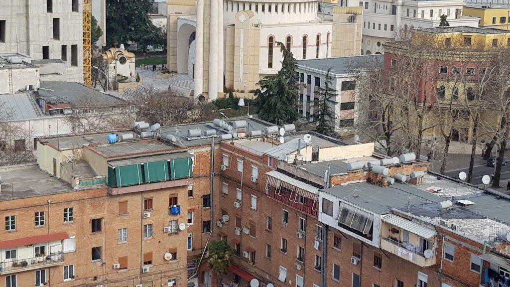 Tirana water tanks