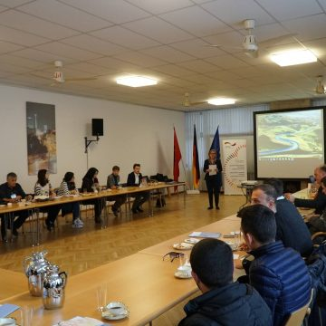 Make It in Albania,  German Support Is Reaching out to Disadvantaged Areas