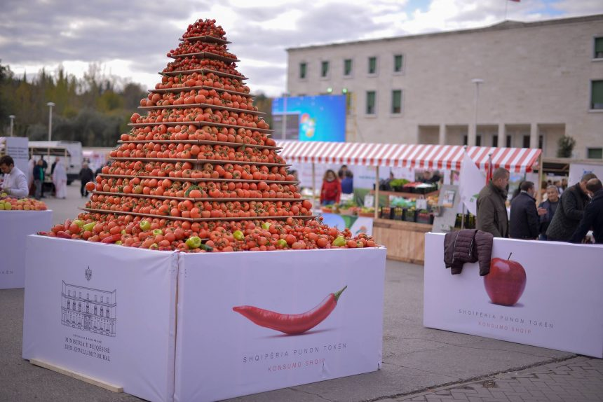 Traditions Fair Gathers 600 Successful Farmers and Businesses in Tirana