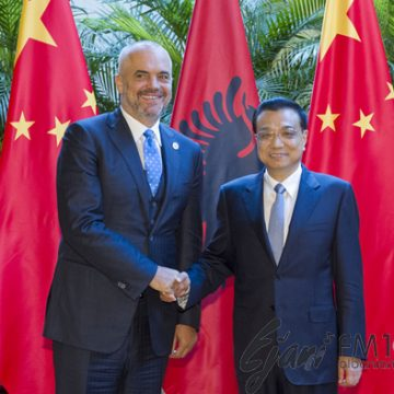 PM Edi Rama meets his Chinese counterpart and attends the World Economic Forum