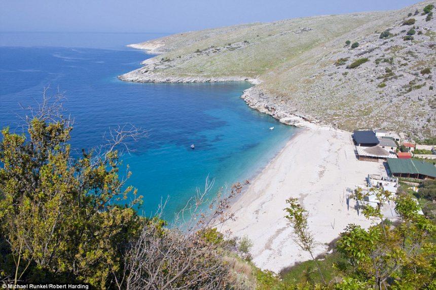 Daily Mail: Himara beach, one of the best Mediterranean beaches