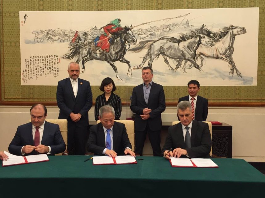 Albania, Montenegro and Pacific company sign MoU for Blue Corridor project