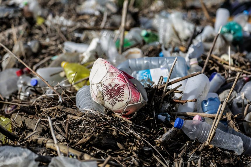 Tons of Plastic Waste Removed from Albania's Beaches and Rivers