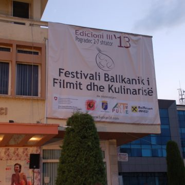 """Balkan Film and Food Festival"" starts its fourth edition in Pogradec"