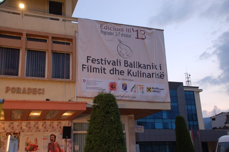 """""""Balkan Film and Food Festival"""" starts its fourth edition in Pogradec"""