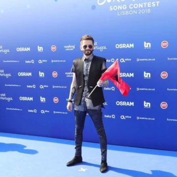 Tonight: Gent Bushpepa to Sing on 1st Semi-Final of Eurovision Song Contest 2018