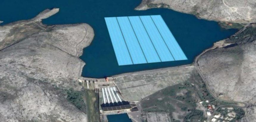 KESH Submits Request for Vau i Dejes Floating Solar Power Plant