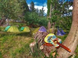 Dhermi Kolektiv camping