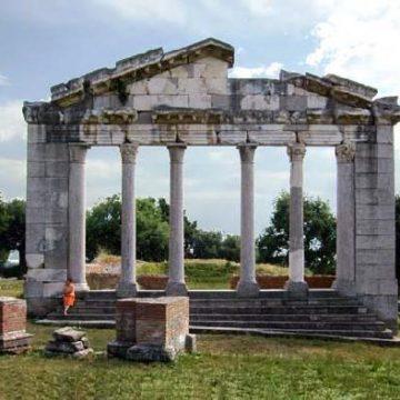 Apollonia near Fier