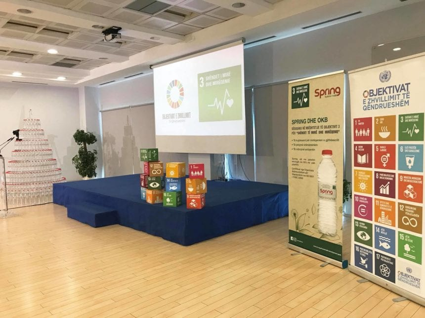 How Water will Make SDGs Famous and Popular in Albania