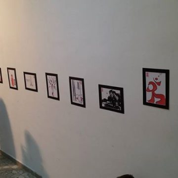 """""""Mimesis"""" exhibition of French multidisiplinary artist presented in Tirana"""