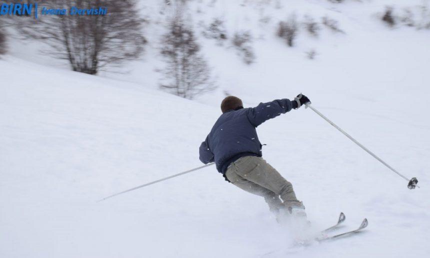 Winter sports in Shishtavec village