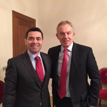 Minister of Economy discusses reforms with PM's councellor Tony Blair