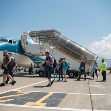 International Arrivals to Albania Plunge by 63.4% in Jan-Jun 2020