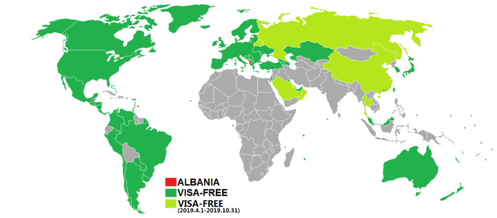 Albania Visa Policy