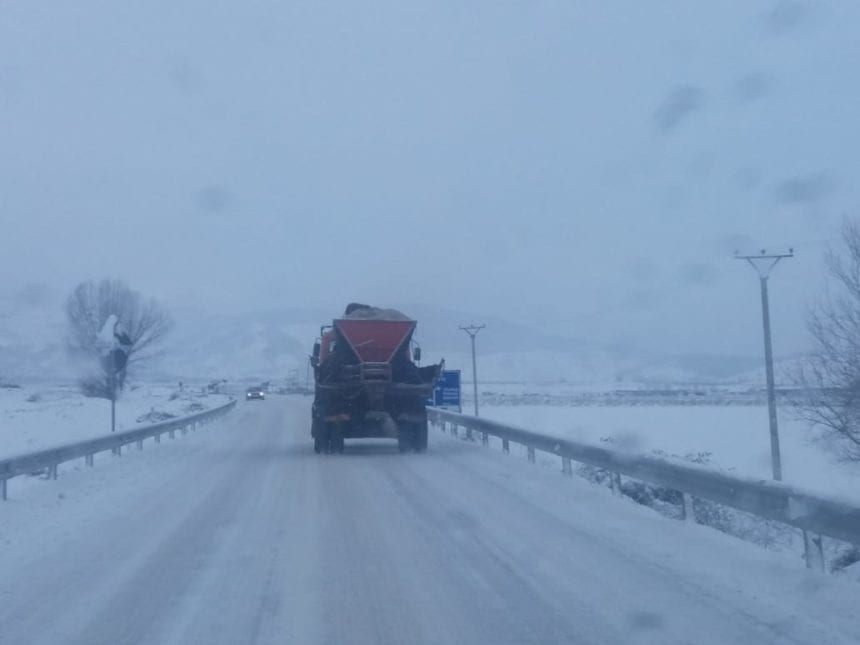 Icy Roads Warning as Temperatures to Drop to -13