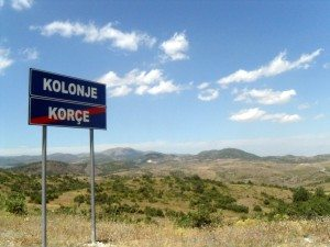 Albania,_road_Korce-Erseke_3