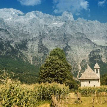 Master Plan on Albanian Alps Adopted