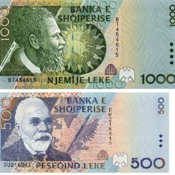 Albanian Currency (ALL)