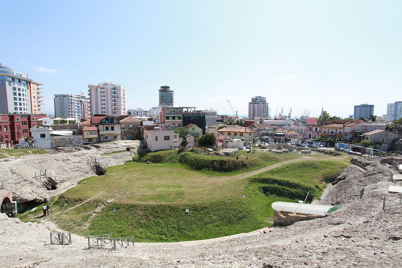 amphitheater of durres