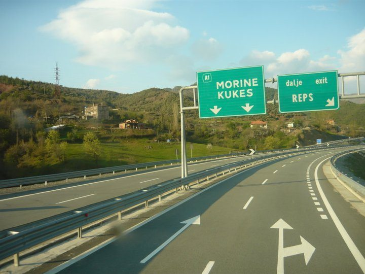 Albanians will have to pay fees for the road maintenance