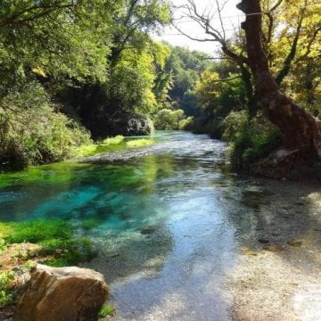 """Albanian Legend: How was the """"Blue Eye"""" Water Spring Created?"""