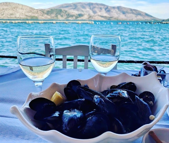 Butrint Lake mussels