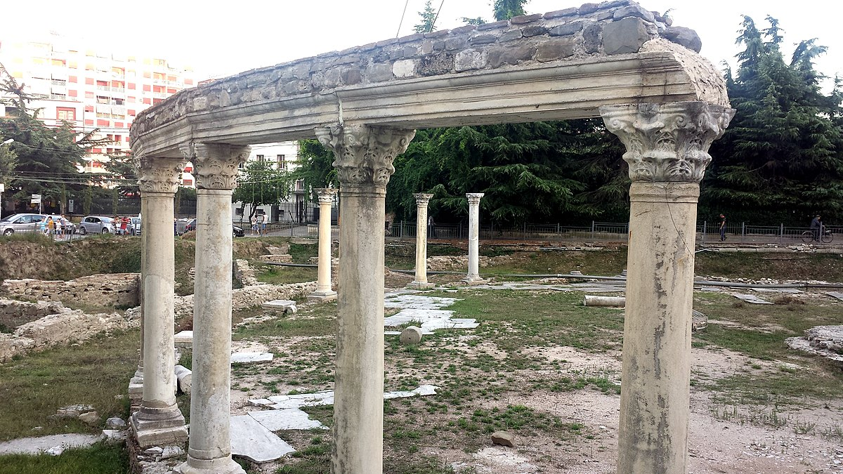 byzantine market place