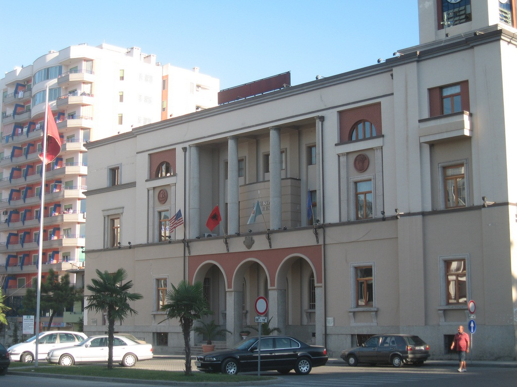 city hall of durres