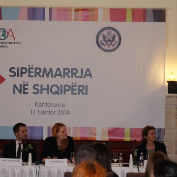 "Global Opportunities Albania holds ""Entrepreneurship in Albania"" conference"