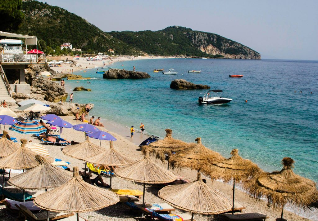 Picture of the Beach of Dhermi