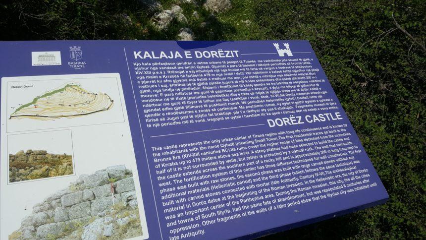 Dorezi Castle Tirana