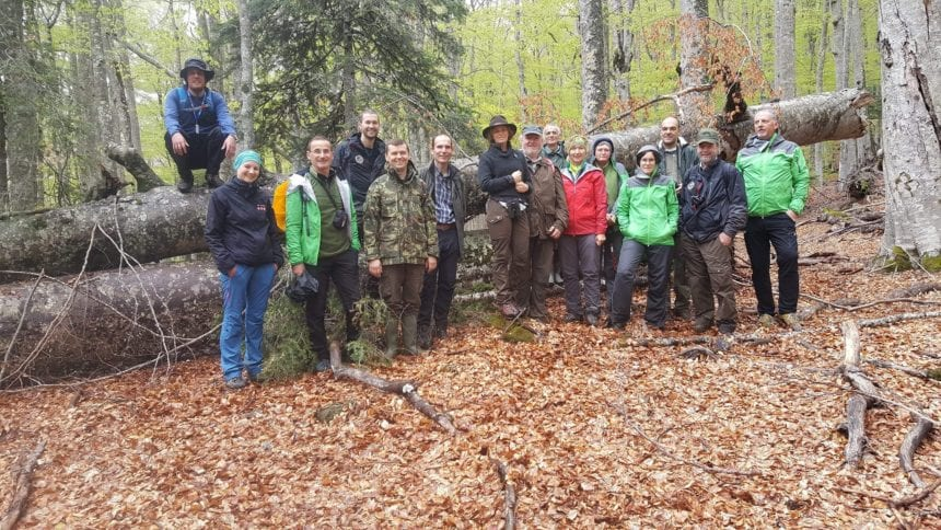 Austrian Team of Experts Visit Protected Areas in Albania