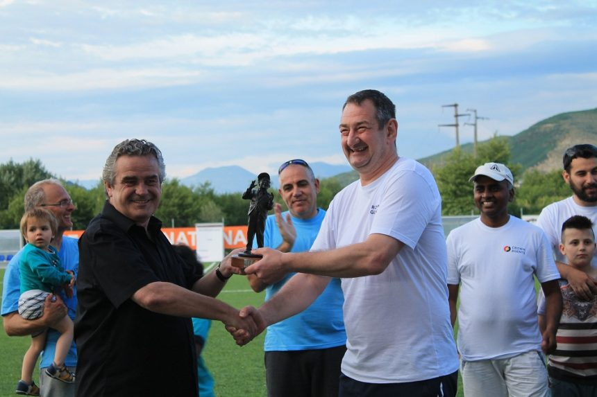 Albania  staged its first ever cricket match on May 26th
