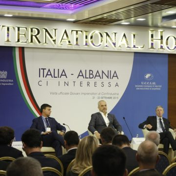 Italy – Albania Business Forum held in Tirana on September 22