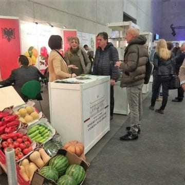 Albanian Products Showcased at Fruit Logistica in Berlin